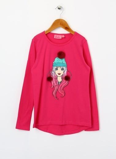 Barbie Tişört Bordo